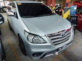 Silver  Toyota Innova 2016 Automatic for sale
