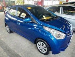 Selling Blue Hyundai Eon 2018 Manual Gasoline at 4000 km