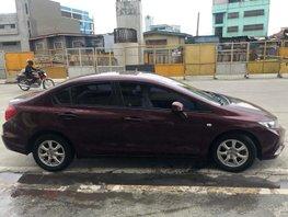 Selling Red Honda Civic 2012 Sedan in Quezon City