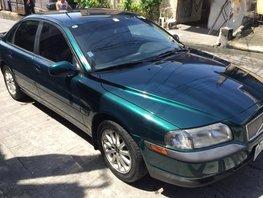 Green 2002 Volvo S80 Sedan at 79000 km for sale
