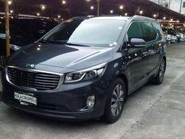 Grey Kia Grand Carnival 2015 for sale in Pasig