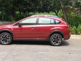 Red Subaru Xv 2015 for sale in Quezon City