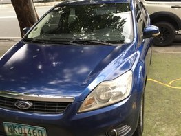 Blue 2009 Ford Focus Automatic Gasoline for sale in Metro Manila