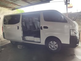 Selling White 2016 Nissan NV350 in Quezon City