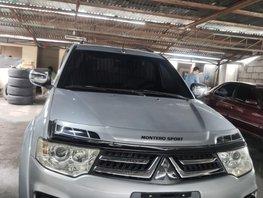 Silver 2014 Mitsubishi Montero for sale in Quezon City