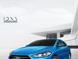 Blue 2019 Hyundai Elantra for sale in Makati