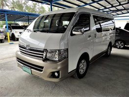 White 2013 Toyota Hiace Automatic Diesel for sale