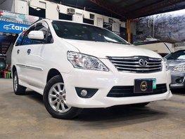 White 2014 Toyota Innova Diesel Manual for sale