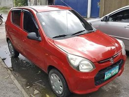 Selling Red Suzuki Alto 2014 at 64000 km in Angeles