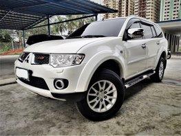 White 2012 Mitsubishi Montero Sport for sale in Metro Manila