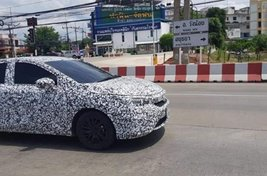 [Spy shots] Honda City 2020's first look on street-trial
