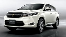 2017 Toyota Harrier (facelift) to be launched at Japanese market in June