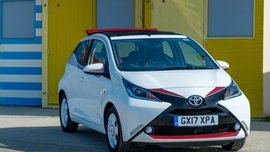 Only 350 units of 2017 Toyota Aygo x-claim available for the UK market