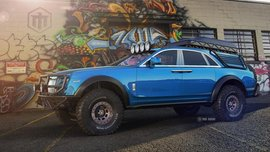 Imagination: Rolls-Royce Ghost under the shape of a luxury off-roader