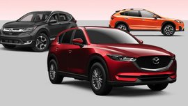 Subaru XV vs. Honda CR-V vs. Mazda CX-5: Specs comparison