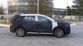 Spy shots of Hyundai Tucson 2019 facelift