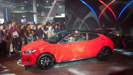 [MIAS 2018] Say hello to the all-new turbocharged Hyundai Veloster 2019