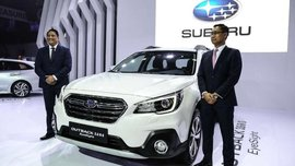 [MIAS 2018] Subaru Outback 2018 facelift and Eyesight tech debuted