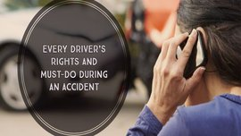 Every driver's rights and must-dos during a car accident in the Philippines