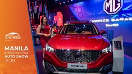 MIAS 2019: Time to crossover with the new MG ZS 2019