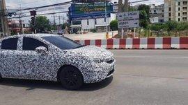 [Spy shots] Honda City 2020's first look on street-trial
