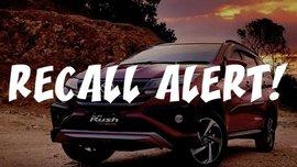 Recall Alert! Toyota Issues Service Recall Advisory for Toyota Rush