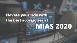 Elevate your ride with the best accessories at MIAS 2020