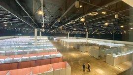 Former MIAS venue transformed into COVID-19 quarantine facility