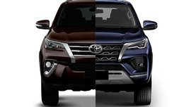 2021 Toyota Fortuner Old vs New: Spot the differences