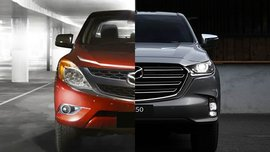 2021 Mazda BT-50 Old vs New: Spot the differences