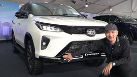 See what's special with Toyota Fortuner Legender in this walkaround video