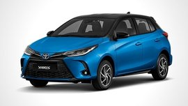 This is the 2021 Toyota Yaris with the new Vios face