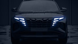 This is the next Hyundai Tucson – and yes, those are LEDs