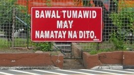 Tagalog translation of LTO traffic signs, just in case you need one
