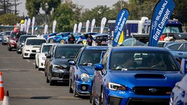 Largest parade of Subaru cars had the next-gen BRZ as special guest