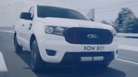 Facelifted 2021 Ford Ranger teased ahead of November 5 Thailand debut