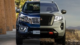2021 Nissan Navara Old vs New: Spot the differences