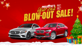 Philkotse's Year-End Blowout Sale gives you a chance to drive your dream car