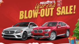 Reward yourself this Christmas season with incredible car promos