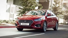 Hyundai Accent is available for zero DP, P16K monthly this December