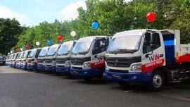 Foton PH delivers 61 vehicles to Valenzuela City government