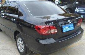 Toyota Corolla 2006 Gasoline Automatic Black
