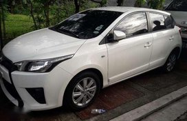 toyota yaris 1.3E automatic white low mileage at 2000kms mileaged