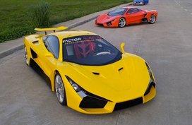 The Aurelio super sports car making a historic breakthrough