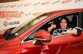 A Pampanga resident won a brand-new Lexus NX200t and P100,000