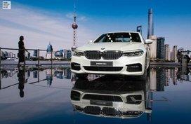 Long Wheelbase BMW 5-Series Li revealed at 2017 Shanghai Auto Show