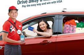 Exclusive discounts via Visa payWave contactless payment technology