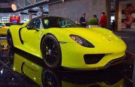Rare Acid Green Porsche 918 Spyder Available for Sale in Dubai