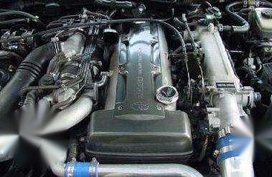 Toyota Supra Engine 2JZ GTE Turbo Racing Set Up