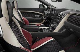 Vegan interiors on next generation Bentleys